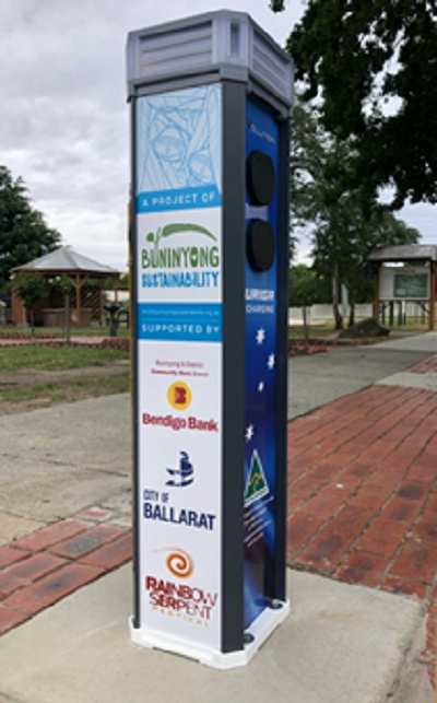 Charge point buninyong